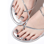 Load image into Gallery viewer, DASHING DIVA Magic Gel Strip Oh California Pedi Fever Night GPS57