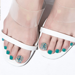 Load image into Gallery viewer, DASHING DIVA Magic Gel Strip Oh California Pedi Huntington Beach GPS58