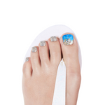 Load image into Gallery viewer, DASHING DIVA Magic Gel Strip Pedi Under The Sea GPS13