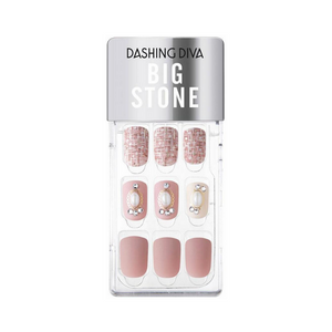 DASHING DIVA Magic Press Big Stone Autumn Closet Mani Bell Rose MDR786PR