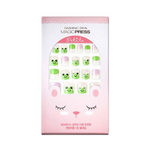 Load image into Gallery viewer, DASHING DIVA Magic Press Kids Mani Frog MPKD14
