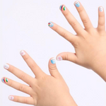 Load image into Gallery viewer, DASHING DIVA Magic Press Kids Mani Rainbow MPKD40