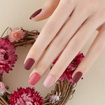 Load image into Gallery viewer, DASHING DIVA Magic Press Mani Becoming Rose MDR505 (Fall)