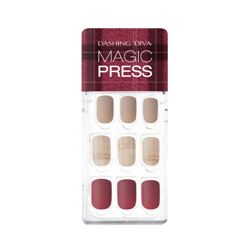DASHING DIVA Magic Press Mani Cashmere Mauve MDR498 (Fall)