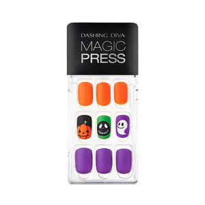 DASHING DIVA Magic Press Mani Jack-O-Lantern MJP081 (Halloween Collection)