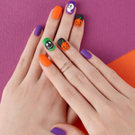 Load image into Gallery viewer, DASHING DIVA Magic Press Mani Jack-O-Lantern MJP081 (Halloween Collection)