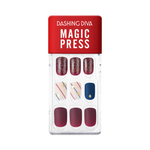 Load image into Gallery viewer, DASHING DIVA Magic Press Wonder Red Mani Let It Star MDR822