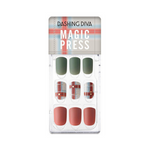 Load image into Gallery viewer, DASHING DIVA Magic Press Autumn Closet Mani Mute Check MDR767