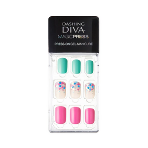 [BEST BUY] DASHING DIVA Magic Press Mani Vivid Bubble Candy MDR113