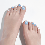 Load image into Gallery viewer, DASHING DIVA Magic Press Oh California Pedi Irish Blue MDR651P