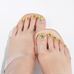 Load image into Gallery viewer, DASHING DIVA Magic Press Oh California Pedi Juicy Pineapple MDR673P