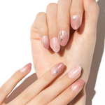 Load image into Gallery viewer, DASHING DIVA Magic Press Oval Long Mani Demure Rose MDR711OL