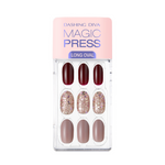 Load image into Gallery viewer, DASHING DIVA Magic Press Oval Long Mani Rouge Shine MDR714OL
