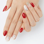 Load image into Gallery viewer, [BEST BUY] DASHING DIVA Magic Press Oval Mani Best Red MDR316OV