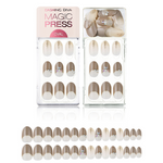 Load image into Gallery viewer, DASHING DIVA Magic Press Oval Mani Shining Taupe MDR508OV (Fall)