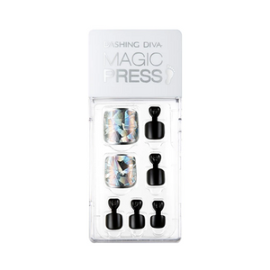 [BEST BUY] DASHING DIVA Magic Press Pedi Reflection Prism MDR382P