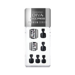 Load image into Gallery viewer, DASHING DIVA Magic Press Premium Series Pedi Crystal Rain MDR169PP