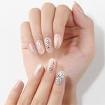 Load image into Gallery viewer, DASHING DIVA Magic Press Queen Stone Glitter Bomb Long Oval Mani Shine Aria MDR867PO