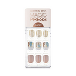Load image into Gallery viewer, DASHING DIVA Magic Press Short Mani Brushed On MDR493SS (Fall)