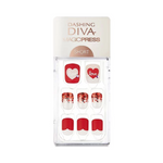 Load image into Gallery viewer, DASHING DIVA Magic Press Short Mani Love Letter MDR441SS