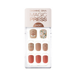 Load image into Gallery viewer, DASHING DIVA Magic Press Short Mani Lovely Coral MDR488SS (Fall)