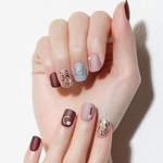 Load image into Gallery viewer, DASHING DIVA Magic Press Autumn Closet Short Mani My Moment MDR777SS