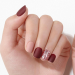 Load image into Gallery viewer, DASHING DIVA Magic Press Wonder Red Short Mani Rose Shine MDR829SS