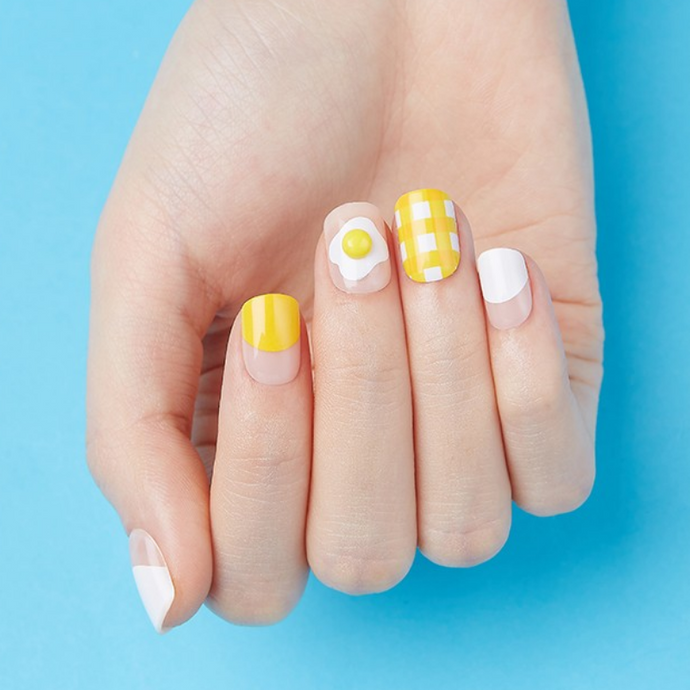 Dashing Diva Magic Press Short Mani Sunny-Side Up MDR287SS