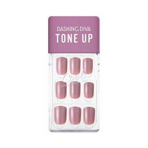 DASHING DIVA Magic Press Tone Up Mani Muted Pink MDR794
