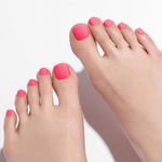 Load image into Gallery viewer, DASHING DIVA Magic Press Tone Up Pedi Neon Pink MDR834P