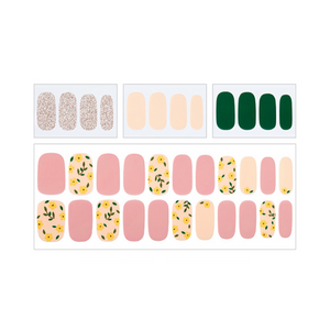 DASHING DIVA Nail Palette Collection Gloss Gel Nail Strip Mani Crown Daisy DGNP80