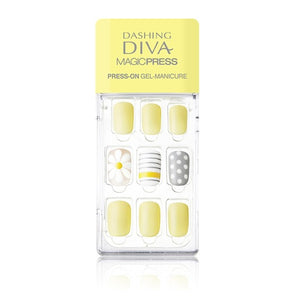 Dashing Diva Magic Press Mani Lemon Verbana MDR135