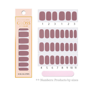 DASHING DIVA Gloss My Color Mani Casis GC02