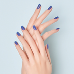 Load image into Gallery viewer, DASHING DIVA Gloss My Color Mani Classic Blue GC01