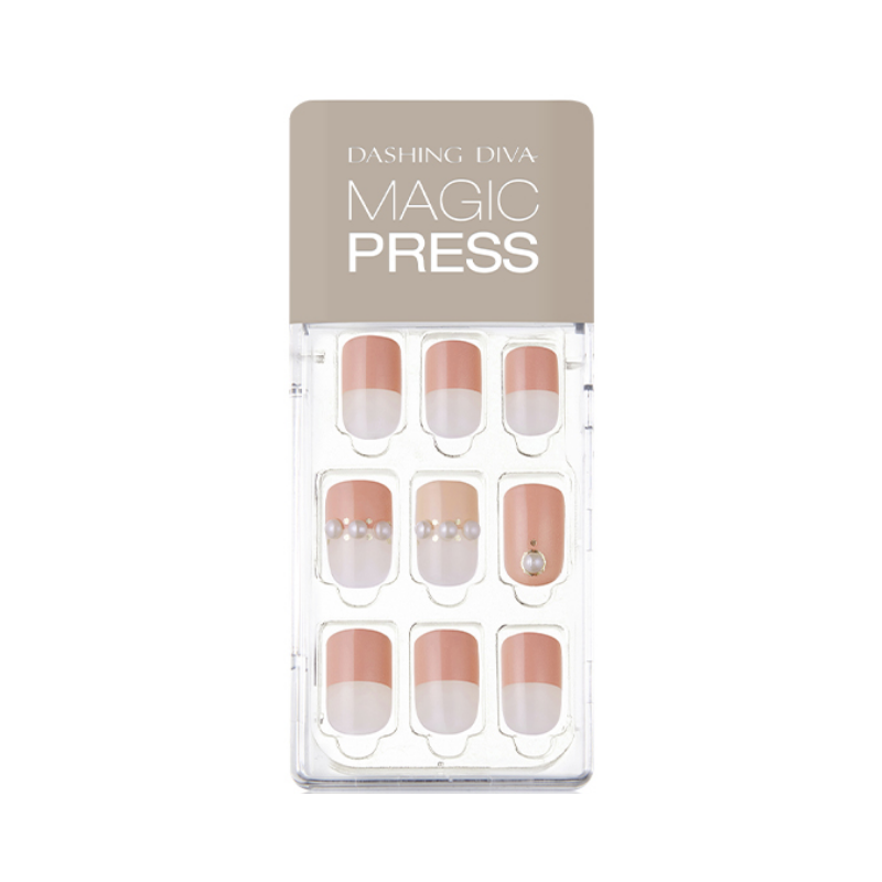 DASHING DIVA Magic Press Mani Pearl In Love MDR503 (Fall)