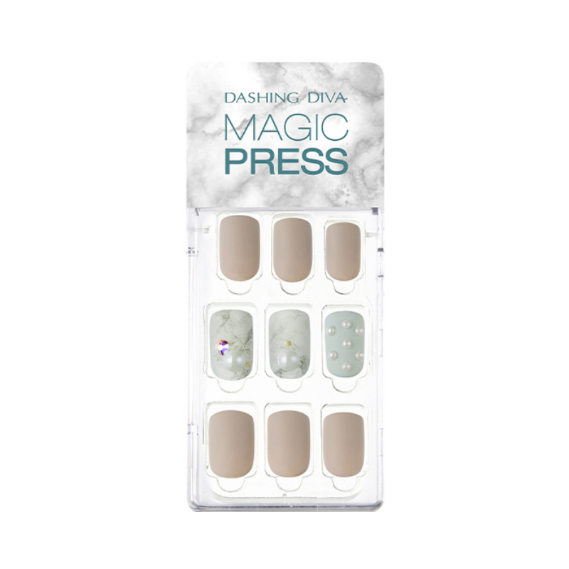 DASHING DIVA Magic Press Mani Pearly Day MDR495 (Fall)