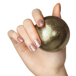 Load image into Gallery viewer, DASHING DIVA Magic Press Mani Rose Gold Glitter MDR590