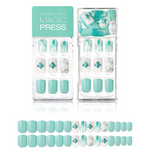 Load image into Gallery viewer, DASHING DIVA Magic Press Mani Sensual Turquoise MDR425