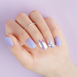 Load image into Gallery viewer, DASHING DIVA Magic Press Mani Sparkling Lavender MDR433