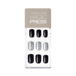 Load image into Gallery viewer, DASHING DIVA Magic Press Mani Zet Black MDR486