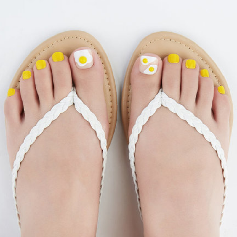 DASHING DIVA Magic Press Pedi Big Sunny Side Up MDR384P