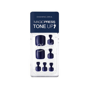 DASHING DIVA Magic Press Tone Up Pedi Royal Navy MDR728P