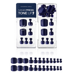Load image into Gallery viewer, DASHING DIVA Magic Press Tone Up Pedi Royal Navy MDR728P