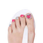 Load image into Gallery viewer, DASHING DIVA Magic Gel Strip Pedi Hey Cutie GPS17