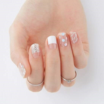 Load image into Gallery viewer, DASHING DIVA Magic Gel Strip Mani Glittering Me GVP42