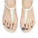 Dashing Diva Magic Gel Strip Pedi Bling Jewel White & Navy DGST76P