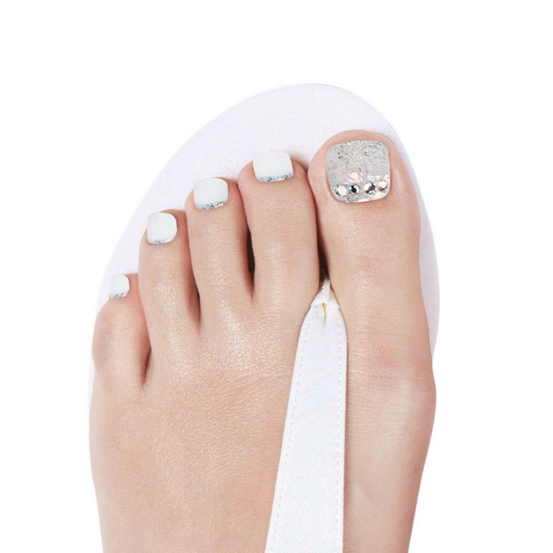 [BEST BUY] DASHING DIVA Magic Gel Strip Pedi Sparkle Shower GPS11
