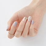 Load image into Gallery viewer, DASHING DIVA Magic Press Short Mani Posh Gold MDR536SS (GLAM MOVE)
