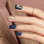 Load image into Gallery viewer, DASHING DIVA Magic Press Mani Soul Navy MPR238PR (GLAM MOVE)