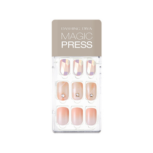 DASHING DIVA Magic Press Mani Blooming Muse MDR625 (SOFT SHINE)